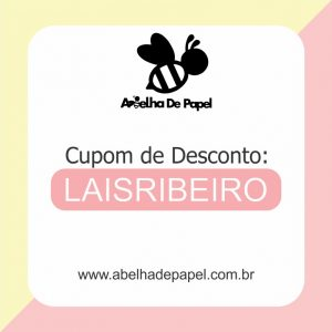 Cupom de desconto Abelha de Papel